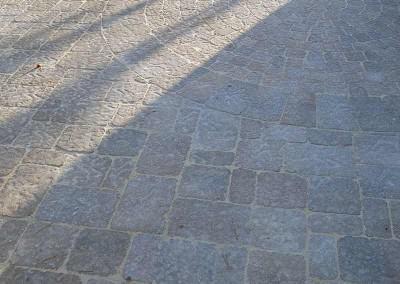 Belgard pavers on Side driveway