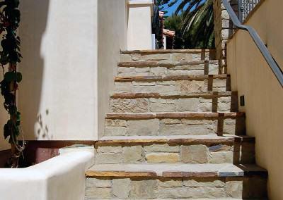 Natural Stone Stairway