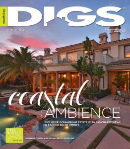 South Bay DIGS magazine cover 8-1-14