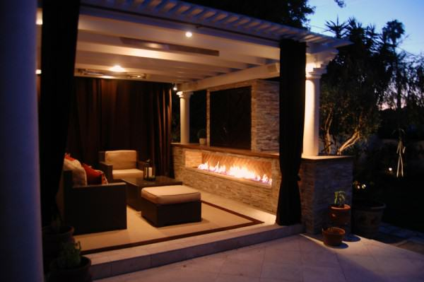 The ultimate outdoor living area!