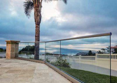 Nitz House - Glass Railings
