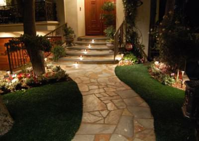 Front Walkway of Stout Residence