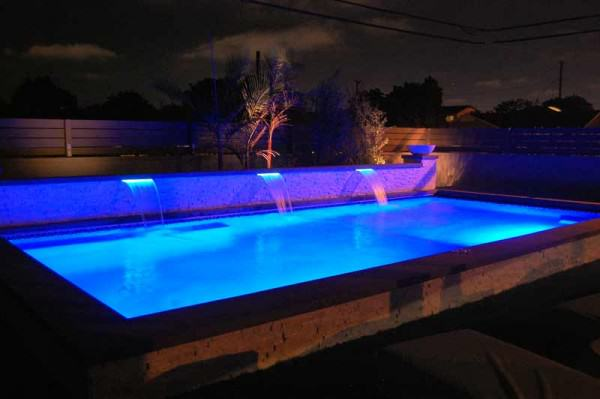 Very private for night swimming