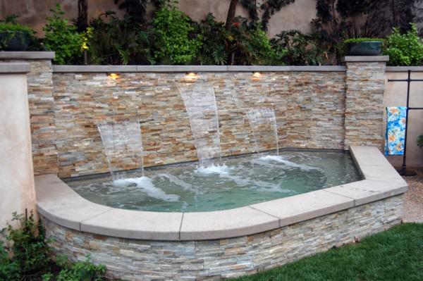 The Winns – Spa with 3 cascade waterfalls
