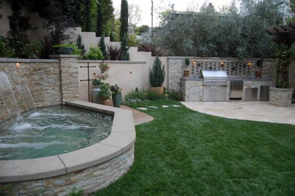 The Winns – Outdoor kitchen and spa