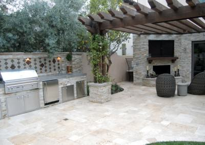 The Winns - Outdoor kitchen